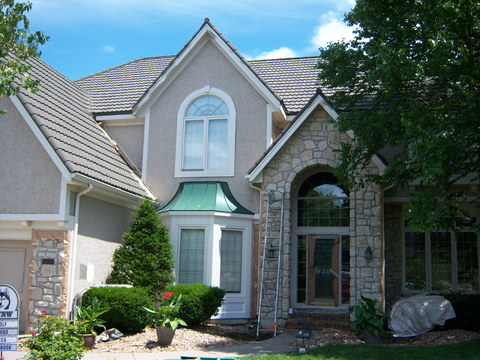 Beautiful Exterior of a Home in Leawood, KS