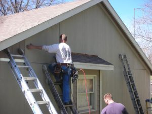 Men Providing Home Improvement Services in Leawood, KS